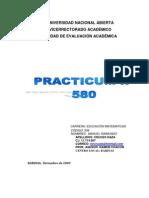 Practicum II 580 (Una)