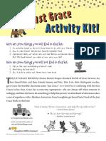 Just Grace Activity Kit