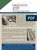 Informativo Enfrentamento ao Tráfico de Pessoas nº 10 - Abril de 2013