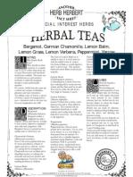 Herbal Tea-special Interest