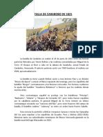 Batalla de Carabobo de 1821