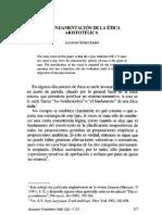 01. Alfonso Gómez-Lobo, La Fundamentación de la ética Aristotélica