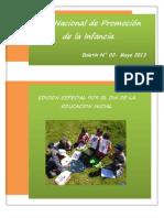 Boletín N° de la Red Nacional de Promoción de la Infancia