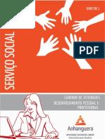 Cead 20131 Servico Social Pr - Servico Social - Desenvolvimento Pessoal e Profissional - Nr (a2ead058) Caderno de Atividades Impressao Sso1 Desenvolvimento Pessoal e Profissional