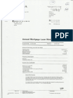Final Annual Mortgage Loan Statement