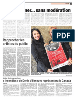 Nuit de la culture à Saguenay