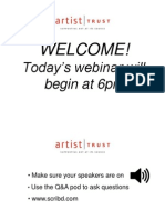 Applying to the 2013 Arts Innovator Award - Webinar