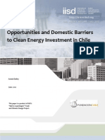 UNIT I Opportunities and Domestic Barriers to Clean Energy Investment in Chile Jun2010