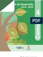 Plan de Desarrollo 2012-2015 Comuna 4