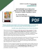 Annemiller Metaphor Presskit