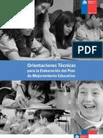 Orientaciones PME SEP 2013