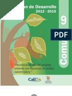 Plan de Desarrollo 2012 - 2015 Comuna 9