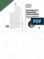 55093416 Judith Butler Ernesto Laclau y Slavoj Zizek Contingencia Hegemonia Universalidad Dialogos Contemporaneos en La Izquierda