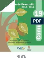 Plan de Desarrollo 2012 -2015 Comuna 19