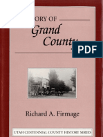 A History of Grand County, by Thomas A Firmage