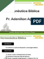 HERMENEUTICA BÍBLICA