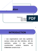 exposé théories des organisations