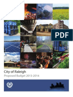 Raleigh FY14 Proposed Operating Budget