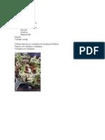 Receitas Para Saladas