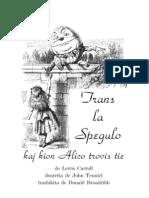 Carroll, Lewis - Trans La Spegulo Kaj Kion Alico Trovis Tie