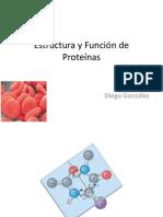 Clase 4 Estructura y Funcion Proteinas