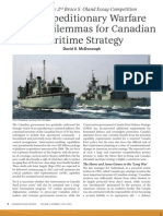 CNR - Canadian Maritime Strategy