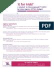 CFSA 2010 Outstanding Issues 041609