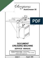 70 070 Autocreaser 50 Service Manual