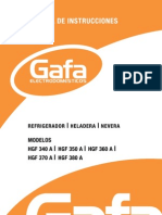 Manual Heladera HGF