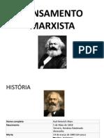 Apresentação Karl Marx