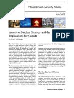 CIIA - American Nuclear Strategy and Canada