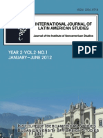 International Journal of Latin American Studies. Year 2, Vol.1, No.2 ISSN 2234-0718