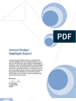 Annual Budget Highlight Report FY2014v3