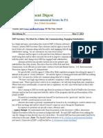 Pa Environment Digest May 27, 2013