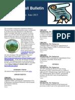 June 2013 Legislation Edition