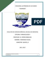 Introducción a la Farmacología 2da parte