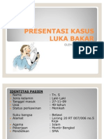 Presentasi Kasus Luka Bakar