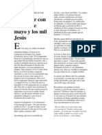 Para orar con la cruz de mayo y los mil Jesús