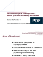 3_1 Blood Glucose-lowering Medicines