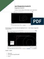 Melukis Objek Dengan Menggunakan Kaedah 3D