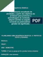 PRICIPIOS Sequencia Didatica Texto Literario