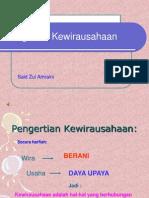 Kewirausahaan 1