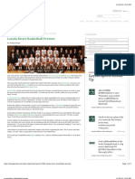 Loyola Men's Basketball Preview