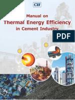 126584308 Thermal Energy Efficiency in Cement Industry