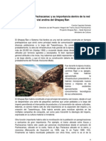El Tramo Xauxa-Pachacamac y su importancia dentro de la red vial andina del Qhapaq Ñan