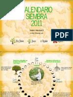 calendario siembra 2011