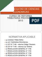 Curso Reforma Tributaria 2013