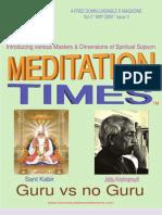 May Times - Kabir & Krishnamurti
