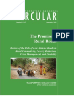 The Promise of Rural Roads