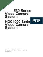 BVP-E30 Series Video Camera System manual